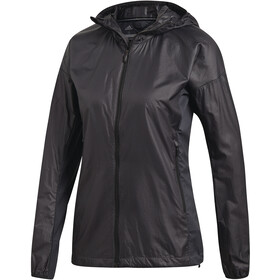 adidas TERREX Agravic Alpha Hooded Shield Jacket Damen carbon